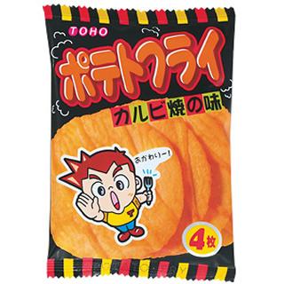 ポテトフライ カルビ焼味 25.5円×20入